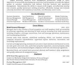 Sample Housekeeping Resume Cover Letter Hospital Supervisor Hotel