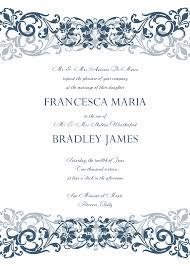 Invitation Formats Beautiful Wedding Invitation Format 24 Free Wedding Invitation 1