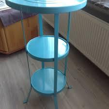 Ikea Säulentisch Gunnern Türkis
