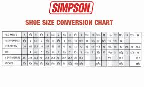 Kids Shoe Size Chart Inches Rigorous Sizing Chart For Converse Clothing Size Conversion