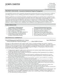 It Manager Resume Simple Building Manager Resume Template ] Property Manager Resume Sle Sle