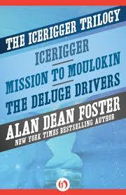 so here they are finally all three books together for the first time icerigger mission to moulokin and the deluge drivers