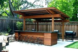 building outdoor covered area areas nz built in barbecue on