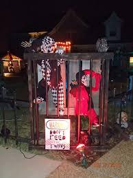 brown asylum outdoor decorations carnival circus decor carnevil