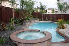 inground pools with waterfalls and hot tubs. Pool With Jacuzzi | Inground Pools Waterfalls And Hot Tubs BrMiGOi P