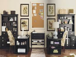 two desk home office. Comfortable Office Furniture, Two Desk Home Ideas Oneoffice .