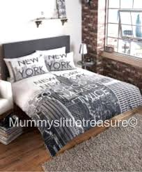 new york city bedding set new city photo skyline duvet cover set double or king new