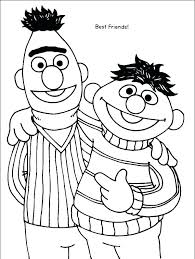 Sesame Street Coloring Pages Free Get This Printable Pictures