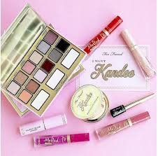 too faced x kandee johnson makeup collection