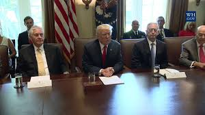 President Trump Leads a Cabinet Meeting - YouTube