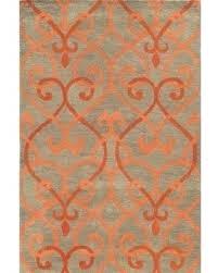 burnt orange rug orange and grey rug excellent awesome orange rug rust colored rugs regarding gray
