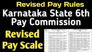 Revised Pay Scale From 1 7 2017 For Karnataka Govt Employees As Per 6th Pay Commission
