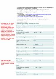 Car Mileage Claim Form Form P87 Claim For Tax Relief For Expenses Of Employment