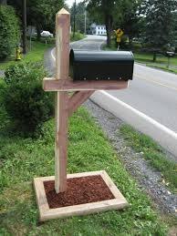 mailbox post. I Want A New Mailbox Post For My Mailbox/garden. That And Bag Of Quickrete Would Be All I\u0027d Need!