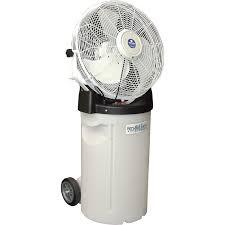 fan mister. schaefer versamist misting fan with cart \u2014 18in., 2,600 cfm, model# pvm18c | fans| northern tool + equipment mister
