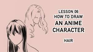 Hair Style Anime draw anime character tutorial 06 draw hair youtube 1911 by wearticles.com