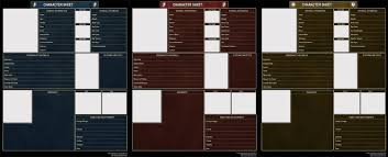 d and d online character sheet character sheets by isriana on deviantart