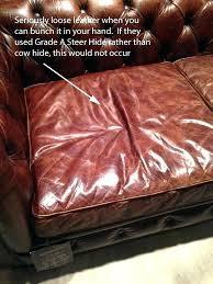 restoration hardware leather couch. Restoration Hardware Leather Sofa Com Reviews Couch