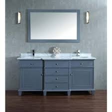 60 Bathroom Cabinet Stufurhome Cadence 60 In W X 22 In D Vanity In Grey With Marble