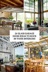 glass garage door ideas to rock in your interiors cover