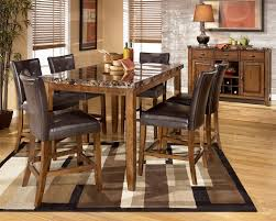 dining room design tall table