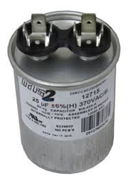 ao smith or other motor replacement capacitor 25mfd 370v 628318 307 at inspectapedia