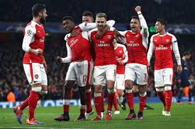 Image result for Arsenal team png