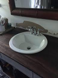diy wood bathroom countertops wood bathroom wooden granite
