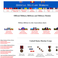 Officialmilitaryribbons Com At Wi Official United States
