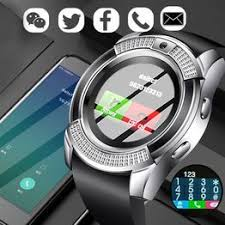 V8 Bluetooth Smartwatch Touch Screen Wrist Watch with ... - Vova