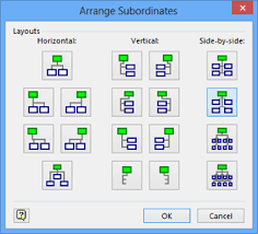 Visio Org Chart Shapes Without Pictures Microsoft Visio 2013 Altering Org Chart Layout And