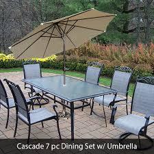 Patio furniture dining sets with umbrella Rectangular Oakland Living Patio Furniture Dining Bistro Lounge Sets Pc Pc Pc Patioshopperscom Oakland Living Patio Furniture Dining Bistro Lounge Sets Pc