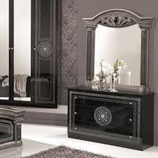 black and silver bedroom furniture. giulia classic italian bedroom set black u0026 silver and furniture 2