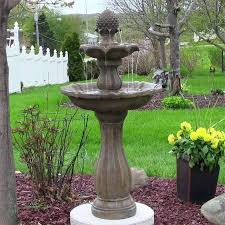 yard fountains tiered garden best fountain images on for sale near me u71