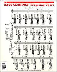 69 True Free Bass Clarinet Finger Chart