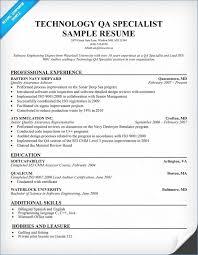 Quality Assurance Resume Best Of Quality Assurance Resume Pour Eux Com
