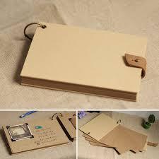 retro photo album a4 großen und kleinen größe speicher blindabdeckung kraftpapier