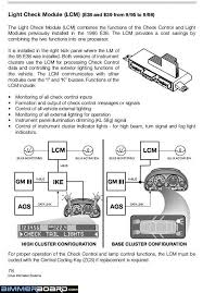 98 740i e38 fuse box schematic bimmerfest bmw forums info below explains the evolution of the lm lcm which controls all the exterior lights etc