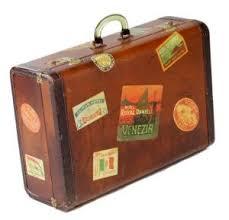 vintage luggage. vintage luggage - mylusciouslife.com suitcase covered in stickers2.jpg