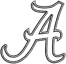 Small Picture Alabama Football Coloring Pages Fresh Alabama Football Coloring