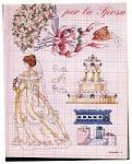 Схема вышивки бисером на свадьбу