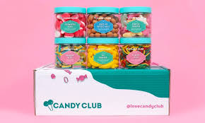 30 toward monthly candy box subscriptions from candy club