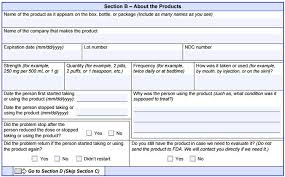 adverse event reporting form how to report a birth defect with suspected ties to zofran