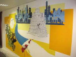 office wall paintings. Beautiful Wall Officewallpaintingideas5 W  Intended Office Wall Paintings O