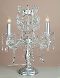 lamp black four arm chandelier style table distinguished