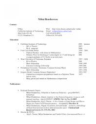 Resume Job Examples For Highschool Students How To Write Student