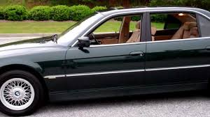 2001 BMW 740il Stunning Color Combination Midnight Metalic Green ...
