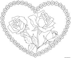 Dessin De Mandala Coeur Dessincoloriage