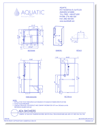 cad drawings aquatic 1363sc 36 gelcoat transfer shower smooth wall pre