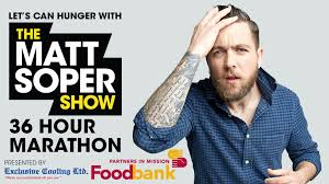 The Matt Soper 36 Hour Marathon | Partners in Mission Foodbank